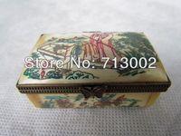 Old Handmade Bone Bijou Box Carven Belle