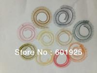 MIX Color/Size BJD/SD false eyelashes for reborn dolls colorful eyelashes