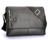 New Arrival! fashion men's leather bag/ man messenger bag, high quality brand design business shoulder bag MB28