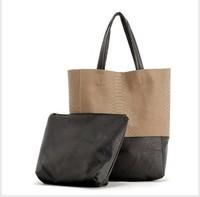 New retro portable shoulder fashion snake pattern man's messenger bag bag real leather vintage women leather bag
