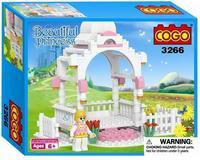 COGO 3266 building Blocks DIY The Princess castle Assembles Particles Bricks Free shipping