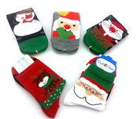 Free shipping  100% cotton socks christmas  onta snowman  cartoon  socks merry christmas