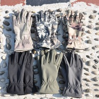 NEW ARRIVAL military army combat gloves camouflage racing gloves biking soft shell thermal tacticl gloves waterproof CP ACU