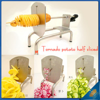 2013 new arrival Full-function tornado magic potato cutter potato tower machine potato chips machine french fries machine