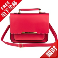Autumn casual handbag horizontal square street bag women's handbag candy bags female bags