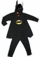 Children's batman clothing set boy party masquerade batman costume halloween gift fashion autumn children clothing party set 421