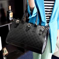 2013 women's handbag checkerboard palid fashion messenger bag handbag bags