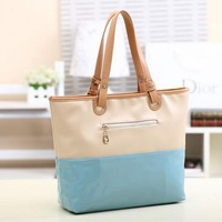 2013 women's bag japanned leather shiny women's handbag sweet gentlewomen handbag candy color bags rose shoulder bag