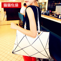 Cat bag women's handbag 2013 autumn fashion patchwork shoulder bag female bags m18-010