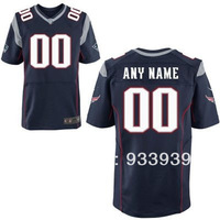 Free Shipping Wholesale Men's New England Customized Elite Jersey - American Football Jersey mixed order
