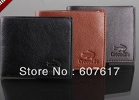 Wallet Men's wallet Genuine leather wallet  wallet wholesale Free shipping!