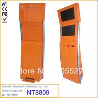 Dual screen touch kiosk manufacturer/kiosk desigh