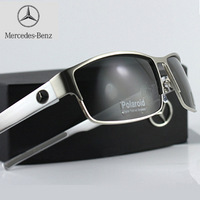High-end luxury men's classic polarized glasses of Mercedes-Benz driver mirror sunglasses sports fashion glasses oculos de sol