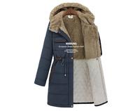 New 2013 Faux fur lining women's winter warm long fur coat jacket clothes outerwear woman coat