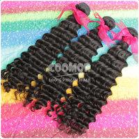 "Aliexpress 12""-28"" Peru Hair Peru Deep Wave 100% No Processed Hair 3PCS Mix Length Available"