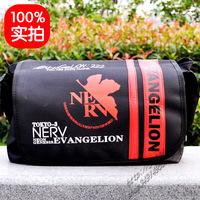 Neon Genesis Evangelion Messenger Bag +1pc Card Sticker EVA School Bag Shoulder Bag YG Anime Bag Free Shipping