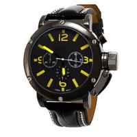 Hot Sell Unisex Round LED Digital Display Sports Watch Men's Waterproof Watch