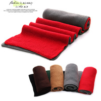 2012 ! thermal color block yarn knitted scarf ultra long scarf all-match general d348s28
