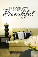 Be Your Own Kind of Beautiful Vinyl Wall Decal Housewares Home Decor - [Top-Me]-TM8080