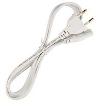 Freeshipping 1pc Universal EU Plug AC Power Cord Cable - White (85cm / 250V)