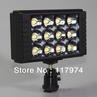 New 10W High Power LED video light news interview Free shipping P0096