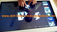 37 Inch 2 real points IR Touch Overlay/ Frame/ Panel /Integration Kit for interactive ads.