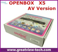 Free DHL shipping Original Openbox X5 HD full 1080p satellite receiver support Youtube Gmail Google Maps Weather CCcam Newcamd