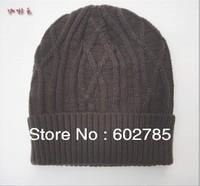 1pcs very warm -----2013 hot selling Korean version Winter hat, Fashionable for men and women knitting wool cap,Free shipping