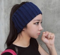SALE - Headband, Earwarmer, Neckwarmer - Hand Knit Wool Headband Hair Band