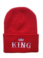 NEW Last Kings Beanie hats Angel Are Extremely Loved By People black and red !