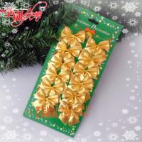 Christmas supplies christmas pendant red bow christmas bow