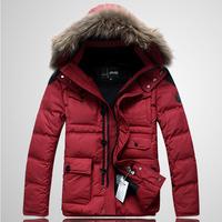 Free shipping 2013 new winter men's outdoor More than 90% white duck down warm down coat/down jacket men / S M L XL XXL XXXL