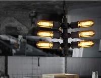 Heavy industrial designer lamps Loft Bar creative chandelier Apache future