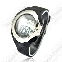 Strapless Healthy Sporty Heart Pulse Rate Monitor Calorie Counter Watch,WaterProof 50M,010