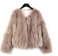 Hot Sale Fur Coat 2013 Winter Women Sexy Faux Fur Short Jacket Ladies Slim Warm Coat Fluffy Outwear