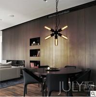 LOFT industrial warehouse designer retro chandelier lamp chandelier Roulette