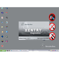 2013.5 Latest C4 Software Mercedes for Benz Star C4 Das Updated Software For DELL D630