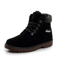 Winter boots men thermal short boots snow boots martin boots cotton-padded shoes plus wool men's boots trend boots
