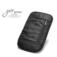 Travel Wallet Portable Waist Bag, Multifunctional Travel Storage Bag,Card Holder,Passport Bag,Tickets Bag,Purse