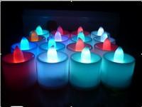 Romantic gift electronic candle lights led candle lamp birthday romantic bundle