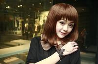 Complex Gulei Si integrated bracelet Korea style fashion element fine chain black free shipping