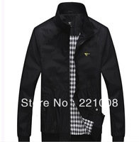 Extra large size number men's clothing outerwear plus size  male jacket spring and autumn jacket  Super big yards free shipping