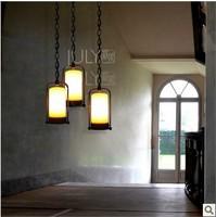 Designer IKEA American country minimalist Scandinavian models castle Huozhu - single lamp - fat