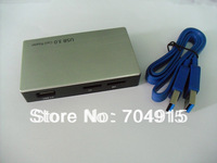 Free shipping for super 5gbps speed USB3.0 all in one card reader with sd ms cf xd tf m2 slot support win7