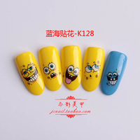 Nail art supplies nail polish finger sticker nail art nail art 3d applique multicolor