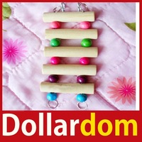 [DollarDom] Flexible Wooden Rat Hamster Mouse Ladder Gerbil Cute Small Animal Pet Toy Hot 01 Worldwide free shipping
