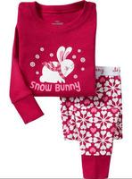 New arrive baby Long sleeves cotton pajamas,kids pyjamas, baby girl clothing,boy/girl casual,kids red sleepwear,children wear
