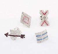 Fashion fashion geometry diamond ring bag 4 cxt95671