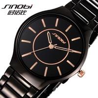 Men's watch waterproof sheet the trend of fashion lovers watches steel strip quartz watch female form
