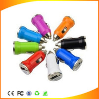 2 piece Freeshipping Factory wholesale 5V 1A usb car battery charger mini for mobile phone